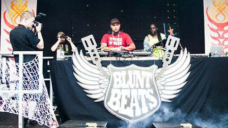 Blunt Beats DJs will return to the Priory Park Stage for Rhythms of the World 2015