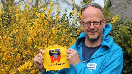 Saffron Walden resident Pete Wagstaff will take part in a swimming relay across the Channel this Jul