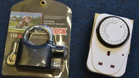 Free security devices available from North Herts police