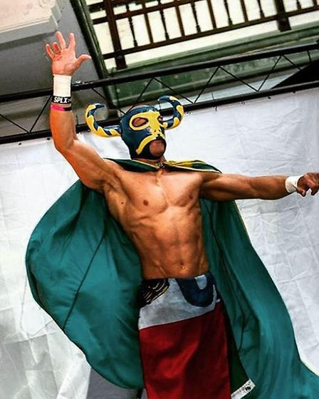 El Ligero with another cape. Credit: Richard Ian Travis
