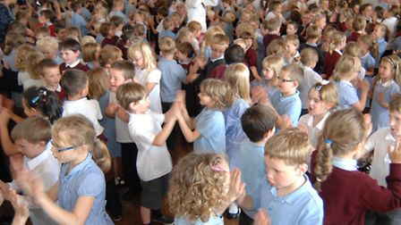 Somersham Primary School. Prospective pupils and their parents across the country found out whether