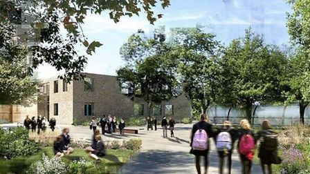 An artist's impression of life at the redeveloped Highfield School.