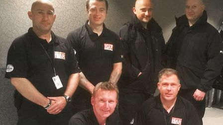 A team of six Essex firefighters and the search and rescue dog Darcy have been deployed to Nepal to