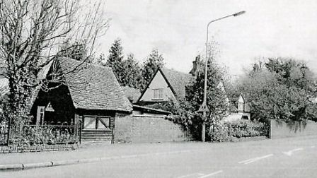 The Old Smithy as it originally stood