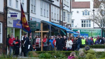 Letchworth March of Witness. Credit Christopher Baker