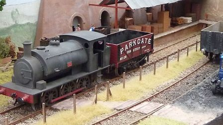 Luton Model Railway Club at Christchurch, Hitchin, April 2015