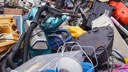 All sorts of lectrical items can be recycled at the Hitchin session