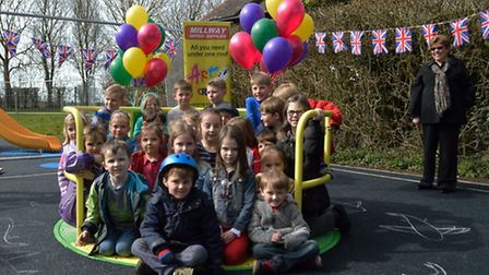 Bentfield Green play area was re-opened last Thursday (April 2) after a £63,000 makeover.