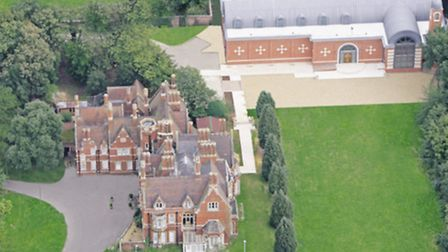 Shephalbury Manor is now the headquarters of the Coptic Church in the UK, and the new St George's Ca