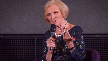 Mary Berry visited Letchworth for a book signing. PICTURE: Christian Trampenau.