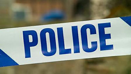 Police are appealing for information after an air rifle and cash was stolen from a caravan at a Henl