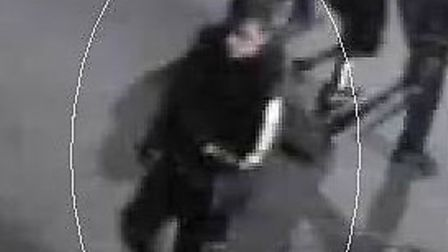 Police want to speak to this man about the vandalism.