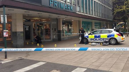 Police-cordoned-off-the-entera