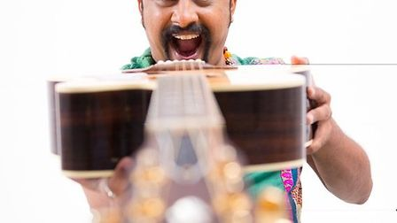 Raghu Dixit is playing at Rhythms of the World 2015. Picture: Gomtesh Upadhye