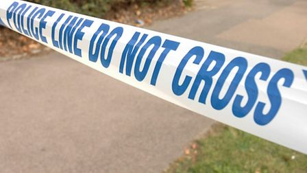 A man in his 20s is in a stable condition in hospital after being stabbed outside a Stevenage house