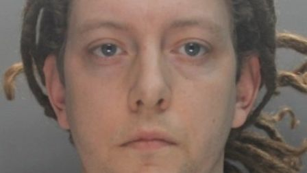 John Disney was caught with drugs in a police stop and search, and has now been jailed for three yea
