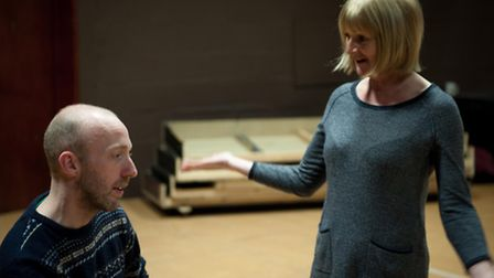Rehearsals for the Bancroft Players production of Hedda Gabler, April 2015. Picture by Julian Newman