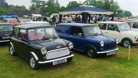 Knebworth Festival of Transport, May 2015 preview