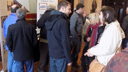 The open day also marked the 150th anniversary of the Shephalbury Manor building