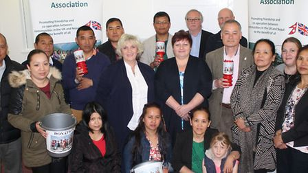 The Tang Ting Twinning Association mobilised a fundraising appeal for the earthquake in Nepal within
