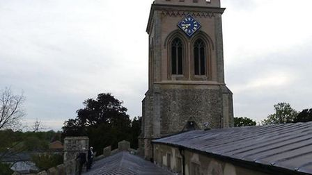 A campaign has been launched to raise funds to restore the roof and make interior improvements to St