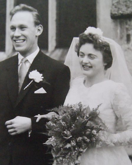 Isobel and Malcom getting married in 1960