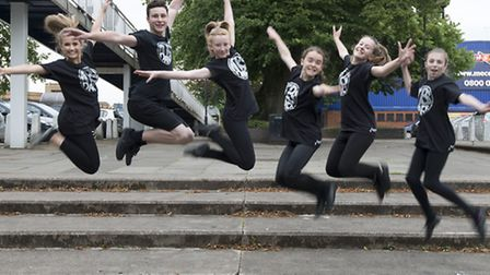 Dancers from Hitchin's Priory School are finalists in the Charity Champions category.