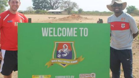 Stevenage FC Foundation Easter trip to Gambia 2015
