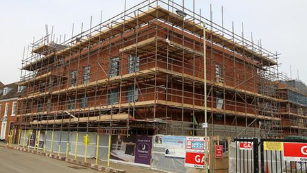 Site of the new Premier Inn on Hermitage Road, Hitchin