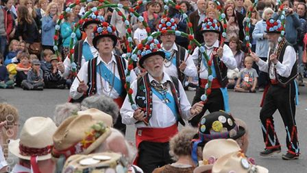 Thaxted Morris Dancing. Picture: Lowie Bingham