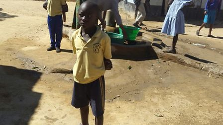 Pupils in Zambia have benefited from Wilshere Dacre Junior Academy donating their old uniforms to th