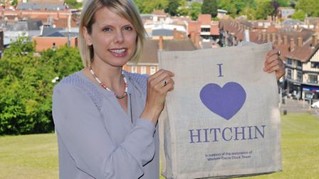 Hitchin resident Rachel Campbell is starting a campaign to rid Hitchin of litter