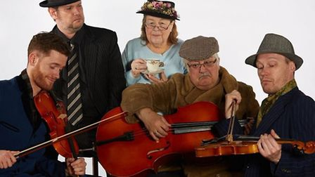 Part of the Settlement Players cast for Ladykillers.