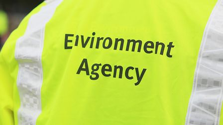 ID shot of an Environment Agency officer wearing identifying vest