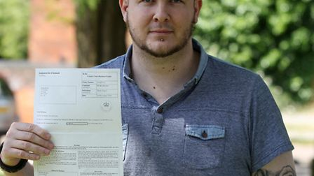 Ben Rayner successfully sued phone touch in Stevenage town for breaking his memory card
