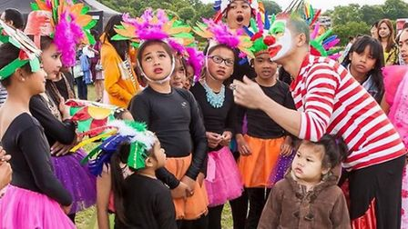 Fun for all at the Barrio Fiesta