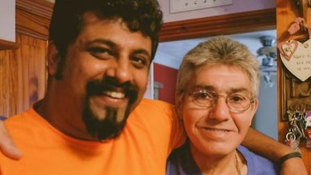 Raghu Dixit and Kevin Johnson.