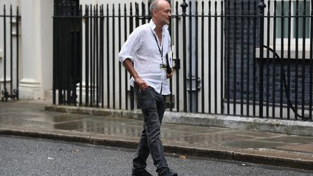 Dominic Cummings in Downing Street. Picture: Jonathan Brady/PA Wire/PA Images