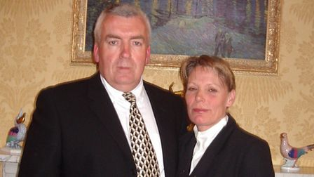 Terry Perkins and his late wife Jean.