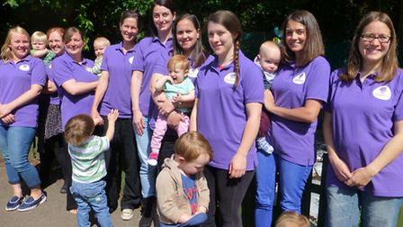 More breastfeeding helpers means greater support for new mums