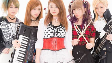 Hysteric Lolita from Japan will play at Hitchin's Club 85