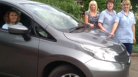 The new Hospice@Home vehicle is a welcome recruit