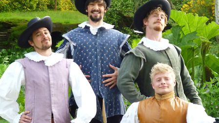 Garden Theatre presentations at Knebworth House, summer 2015 - The Three Musketeers