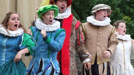 Garden Theatre presentations at Knebworth House, summer 2015 - The Taming Of The Shrew