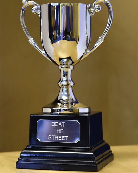 The Beat The Street trophy