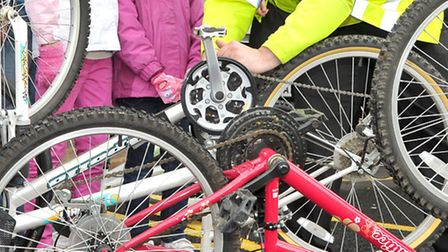 Security marking of bikes is on offer in Letchworth on Tuesday