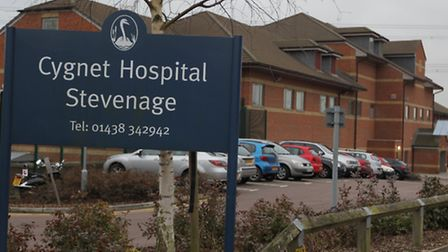 There are plans to expand Cygnet hopsital in Stevenage, which cares for patients with mental health