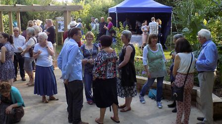Celebrations to mark 15 years of Triangle Community Garden, Hitchin