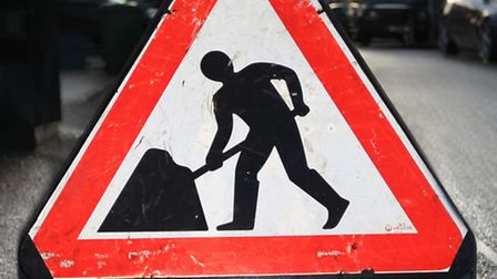 There are long delays on the stretch of the A602 between Stevenage and Hitchin due to roadworks.
