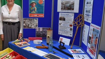 Hitchin History Day at Church House: Sheila Wearmouth of British Schools Museum